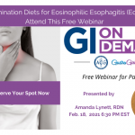 Did Your Doctor Recommend an Elimination Diet for Your Eosinophilic Esophagitis (EoE)?