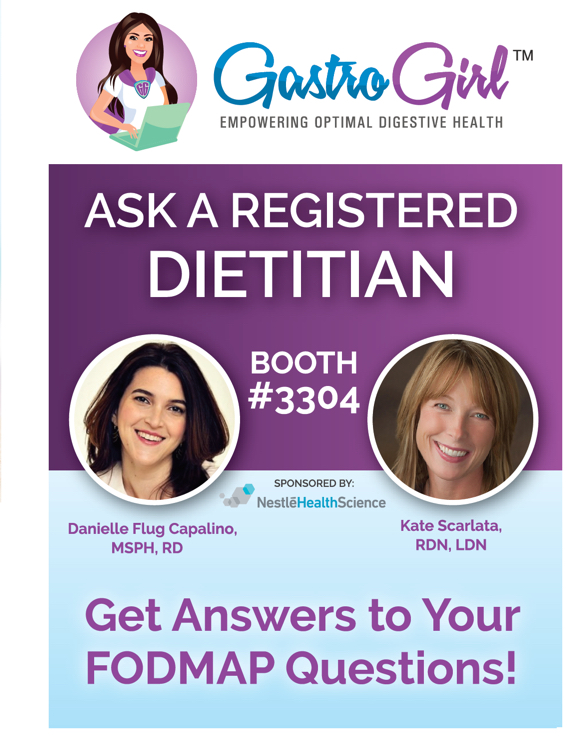 "Nestlé Health Science EXPANDS its Gastro Girl ""Ask the Registered Dietitian"" program to Educate Physicians, Patients on Low FODMAP Diet and GI Nutrition at DDW 2017"
