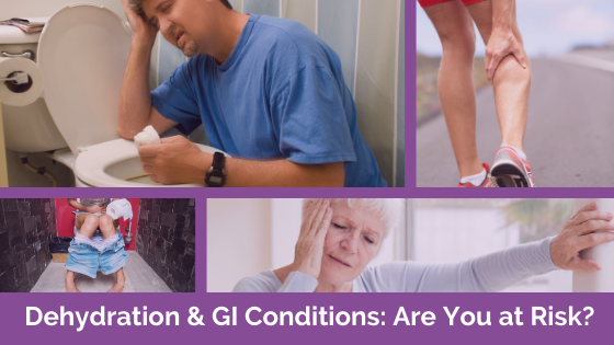 Dehydration & GI Conditions: Are You At Risk?