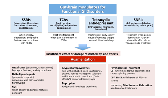 Reduced Stigma for Patients, New Guidance for Physicians on Use of Gut-Brain Modulators for Functional GI Disorders