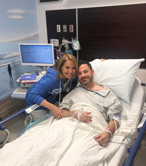Major Props for Jimmy Kimmel Who Follows ACG CRC Screening Guidelines; Gets His First Colonoscopy at Age 50, Accompanied by Katie Couric