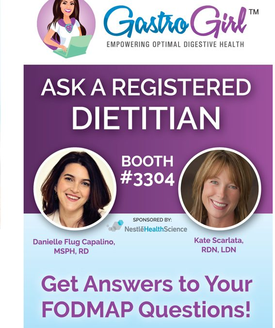 """Nestlé Health Science EXPANDS its Gastro Girl """"Ask the Registered Dietitian"""" program to Educate Physicians, Patients on Low FODMAP Diet and GI Nutrition at DDW 2017"""