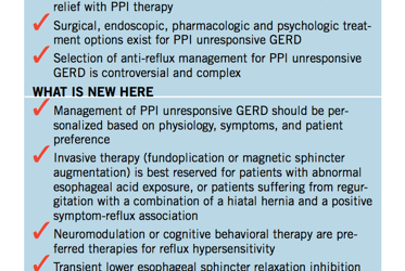 Behavioral Modification, Low-Dose Anti-Depressants, Not Surgery, May be Appropriate for Most Patients with Acid Reflux